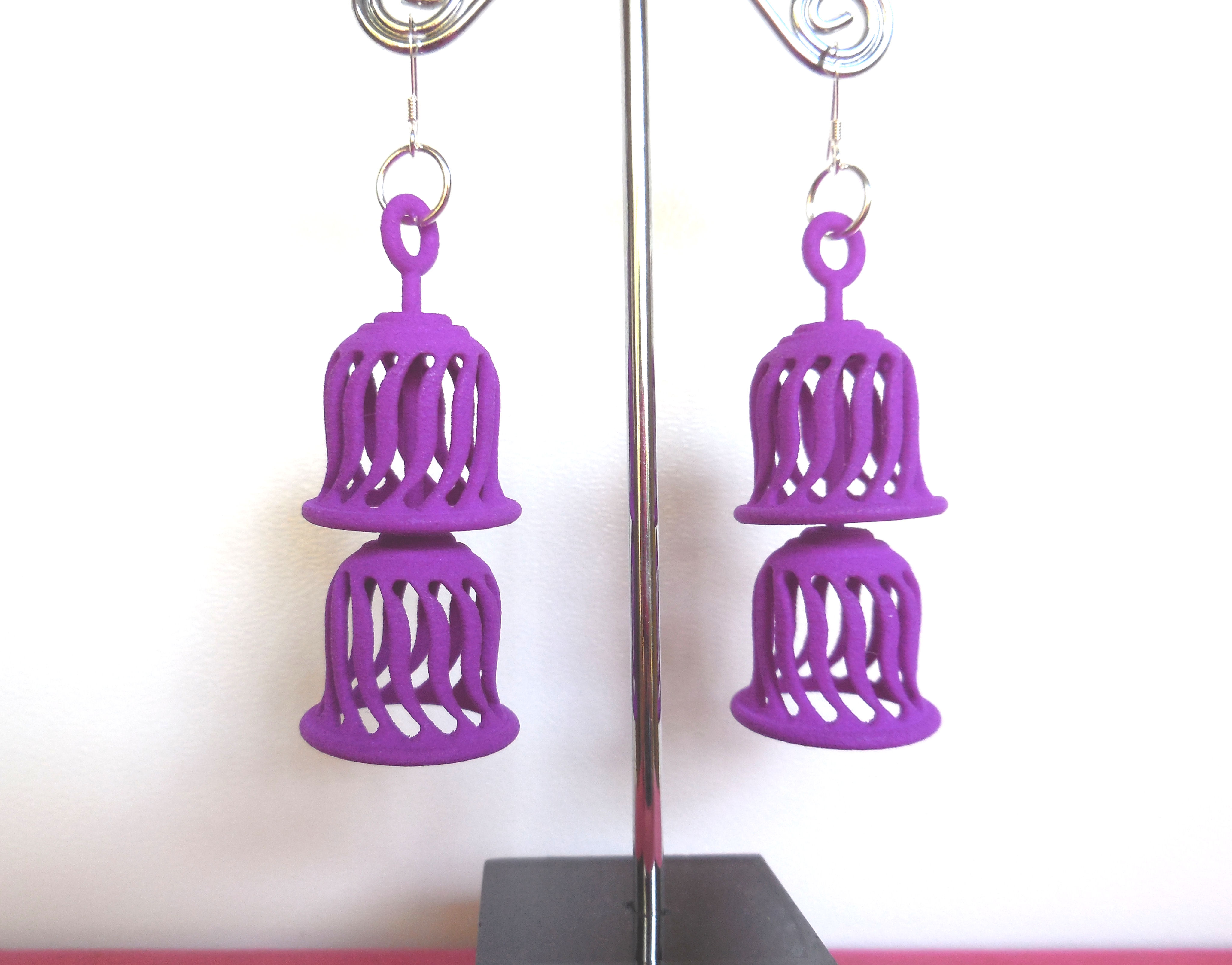 More 3D Printed Earrings added to the Etsy Shop
